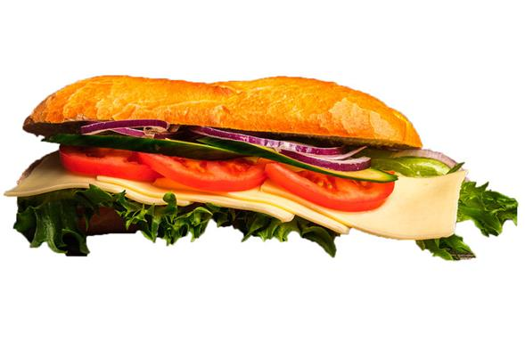 Vegetar m. ost sandwich
